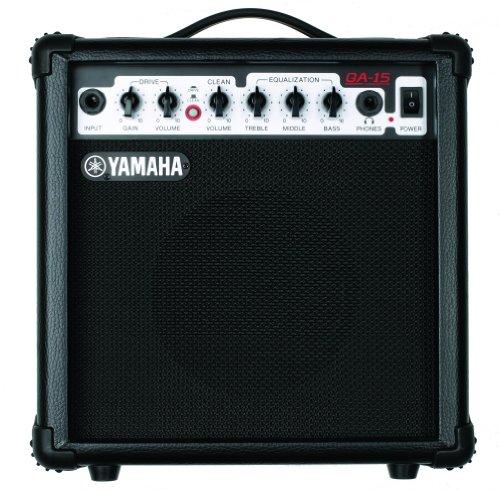 Yamaha GA 15amplificatore per chitarra 15Watt, Clean/Distortion, 1Speaker