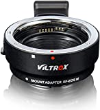 Lens Adapter EF-EOS M Auto-Focus Lens Converter Ring for Canon EF/EF-S Lens to Canon EOS-M...
