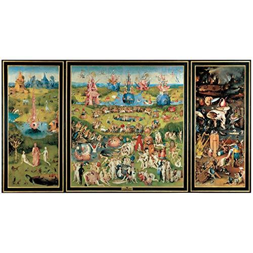 """Cartel del Museo del Prado """"El jardín de las delicias-El Bosco"""""""
