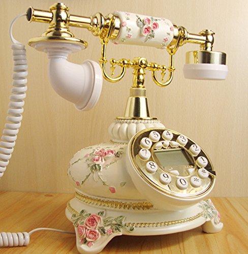 motes uvar WiFi–Tarjeta, antigüedad Antigua, en casa elegir, Oficina Antiguo Teléfono, Teléfono Europea–Fijo, blancas, Amer ikanischen estilo