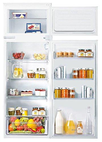 Candy CFBD2650E  1 Frigorifero-congelatore (201L, 41L, Built-in, Top-Place, A +, N-ST, LED), Bianco