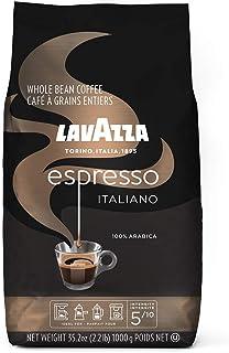 Lavazza Caffe Espresso Whole Bean Coffee Blend, Medium Roast, 2.2 Pound Bag
