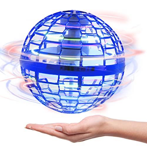 FLYNOVA PRO Flying Ball Toys, 2021 Upgraded Flying Boomerang Spinner Drone Ball 360°Rotating...