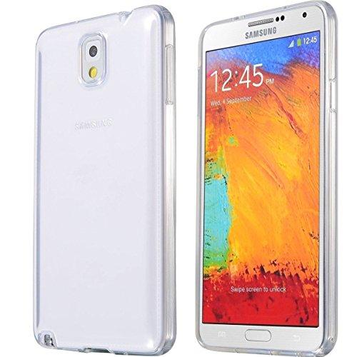 REY Funda Carcasa Gel Transparente para Samsung Galaxy Note