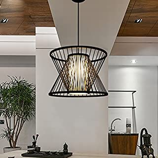 Modern Chinese Bamboo Lamp Aisle Corridor Lamp Zen Chandelier