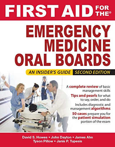 First Aid for the Emergency Medicine Oral Boards, Second Edition (English Edition)