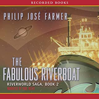 The Fabulous Riverboat audiobook cover art