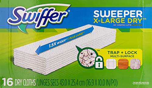 Swiffer Dry Cloth Refill 17.8