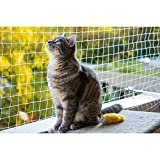 Eono Pet Protective Safety Net cat Anti-escape Net Fence Balcony Net, Xsmall(2x1.5M)