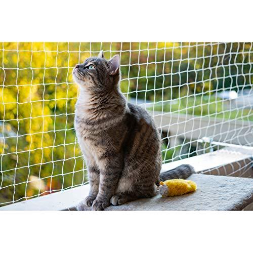 Eono bie Amazon Haustier-Sicherheitsnetz Katze Schutznetz Katzennetz Weglaufschutz Zaun Balkonnetz, X-Small(2 * 1.5M)