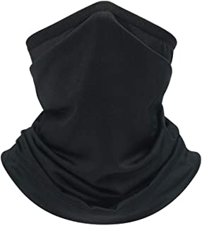 MARKWIND Bandana Face Mask for Men Women Seamless Neck Gaiter Balaclava Multifunctional Motorcycle Balaclava Face Cover Scarf