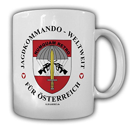 Tasse Jagdkommando Weltweit Österreich JaKdo Special Forces Abzeichen Austria Abzeichen Bundesheer#21793