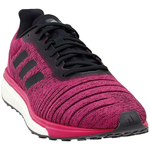 adidas Womens Solar Drive Running Sneakers Shoes - Pink - Size 9 B