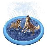 Peteast Splash - Almohadilla para rociadores para Perros y niños, Piscina de Perro, Espesada, Duradera, bañera de baño para Mascotas de Verano, Juguetes de Agua al Aire Libre, XL