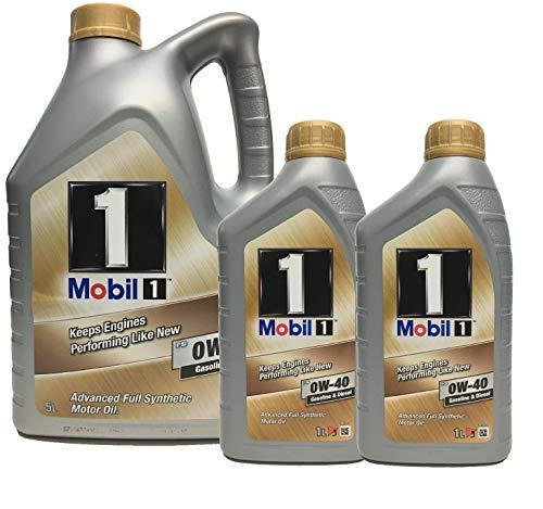 Motoröl Mobil 1 FS 0W-40, 7 liter (Neue verbesserte Formel)