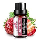Mumianhua 10ml Aceite de aromaterapia con fragancia de aceite esencial de fresa pura, ideal para regalo, bomba de baño, ambientador