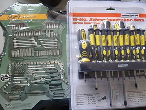 Mannesmann m98430 de clés et douilles 0,6 cm (0,25 pouces) : 0,95 cm (3/8 \