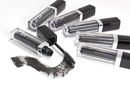 Zuii Organic Bio-Maskara, verleiht eine maximale Länge und ausdrucksstarke Wimpern. Geeignet für...