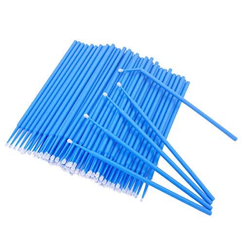 Dental Blue Disposable Micro Applicator Brush Bendable 400 Pcs New Brand
