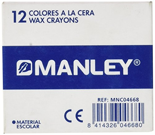 Manley-23-crayons 12 pièces