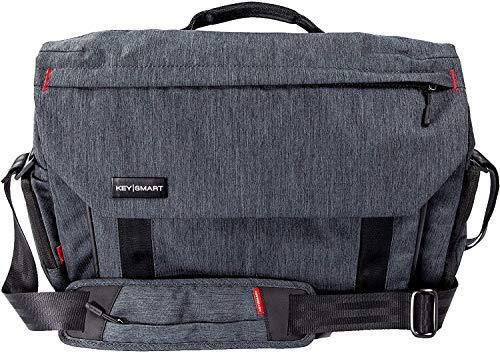 KeySmart Hybrid Convertible Laptop Messenger Bag, Shoulder Bag, Backpack & Briefcase