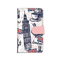 [bodenbaum] Galaxy A51 5G SCG07 手帳型 スマホケース カード スマホ ケース カバー ケータイ 携帯 SAMSUNG サムスン ギャラクシー エーフィフティワン ファイブジー docomo au ロンドン イギリス ビッグベン a-054 (A.ピンク)