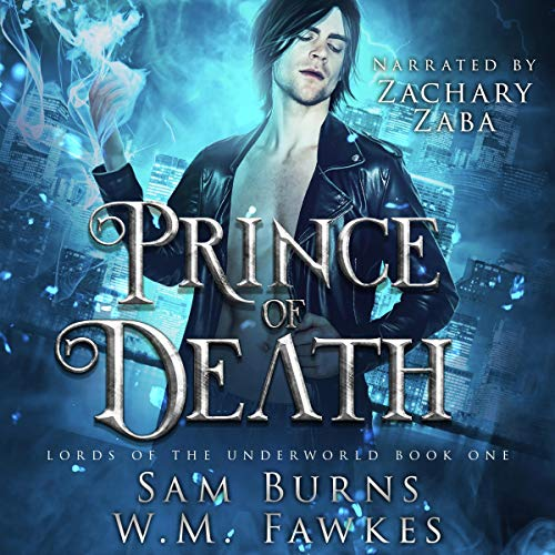 Prince of Death Audiobook By Sam Burns,                                                                                        W.M. Fawkes cover art