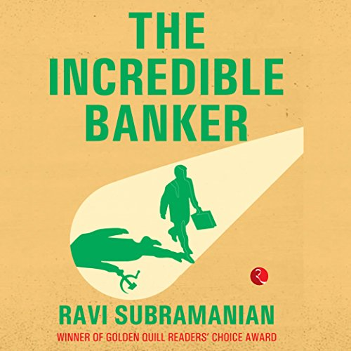 The Incredible Banker audiobook cover art