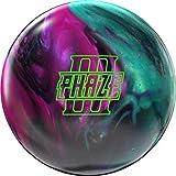 EMAX Bowling Service GmbH MAXIMIZE YOUR GAME Storm Phaze III High Performance - Pelota de Bolos con Arco Angular, 15 LBS