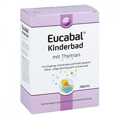 EUCABAL Kinderbad mit Thymian 130 ml