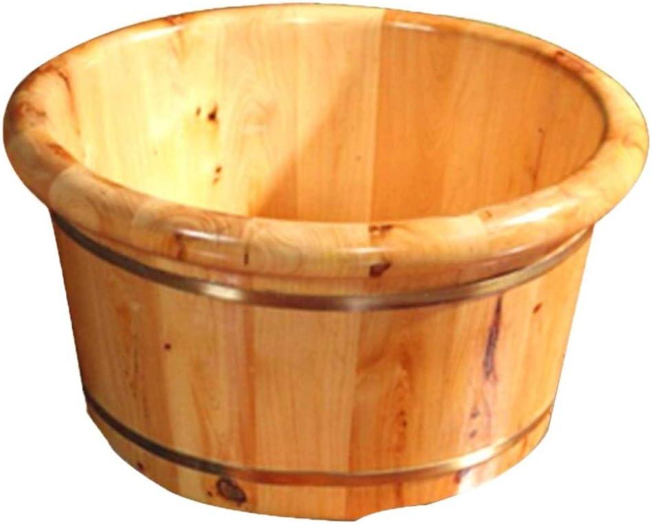XYQRHUS Wooden Barrels Pedicure Basin High Regular dealer Tub Pedicur Foot 26CM Factory outlet