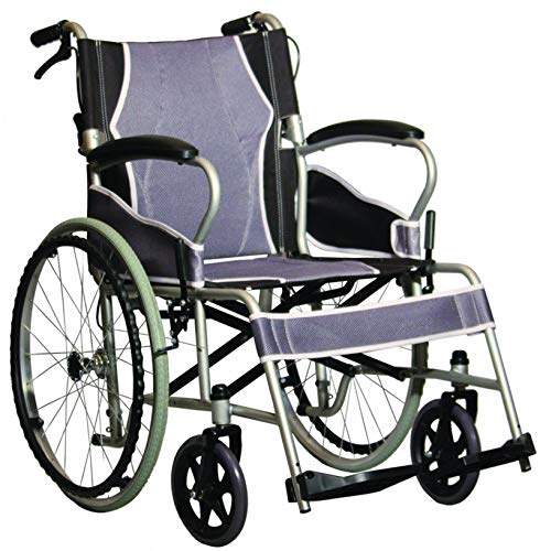 Antar AT52301 Ultraleicht Stahl Rollstuhl, 12400 g