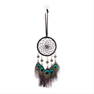 ZGPTX Wind Chimes Indian Style Braided Wind Chimes Art for Dreamcatcher Hanging Car Home Decoration