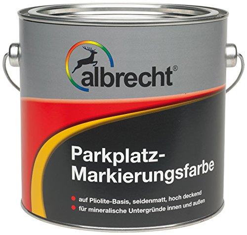 Lackfabrik J. Albrecht GmbH & Co. KG 3400707450000205000 Parkplatz-Markierungsfarbe 1007 gelb 5l