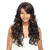 Perücke Damenmode Realistische Natur Chemical Fiber Europa und Amerika Realistische lange lockige Haar Perücke Kopfbedeckungen für Frauen Qualität synthetische Perücken mit