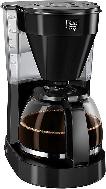 -Melitta Easy 1023-02, Koffiezetapparaat, Met Glazen Kan, Compact Design, Zwart-aanbieding