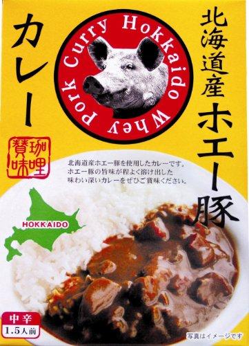 北都 北海道産ホエー豚カレー 180g