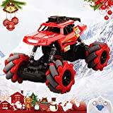 SHWD Remote Control Car, Rc Cars Rc Monster Truck for Boys Girls, 2.4 Ghz High Speed Racing Car Off-Road Truck Rock Crawler Vehicle Drift Stunt All Terrain Climb Electric Toy Car for Kids Adult
