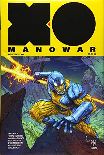X-O Manowar by Matt Kindt Deluxe Edition Book 1