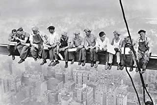 Lunch On a Skyscraper Poster 36x24