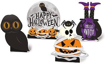 Decoração de Mesa Halloween - 4 Unidades