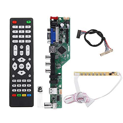 ZHI BEI CCBH Smart Module T.V53.03 Controlador de TV Universal LED Tablero del Controlador LCD 1CH 6BIT 30PINS High-Performance slimme Module