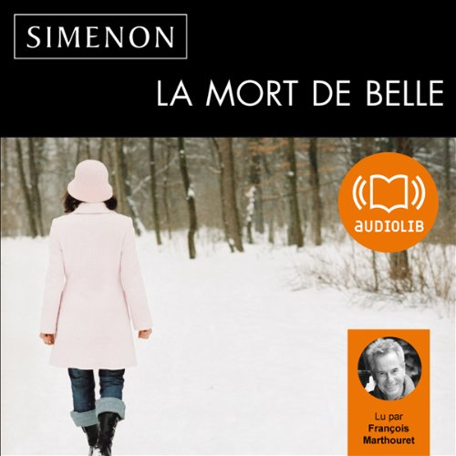 La mort de Belle audiobook cover art