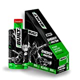 BuiltGO 3 in 1 Energy and Protein Gel Shot - All in One Energy Drink + Pre-Workout + Protein Shake -...