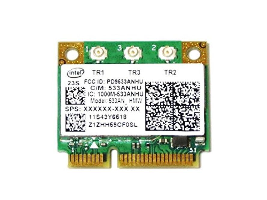Lenovo純正 43Y6519 Intel WiFi Link 5300 802.11a/b/g/n 450Mbps PCIe Mini half 無線LANカード for Thinkpad T400s