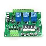 KKmoon Módulo de relé programable de 3 canales LED Controlador de controlador de motor DC / AC7V ~ 36V para Arduino Raspberry Pi