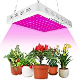 600W LED Plant Grow Light Full Spectrum Plant Light with UV&IR for Indoor Plants,Seeding, Breeding, Veg, Flower(96PCS LEDs)