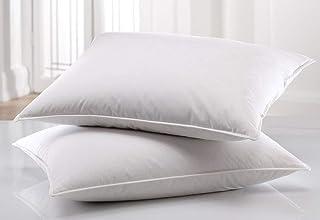 Almohada hipoalergénica de espuma viscoelástica, firme, de apoyo medio, para cama, almohadas suaves