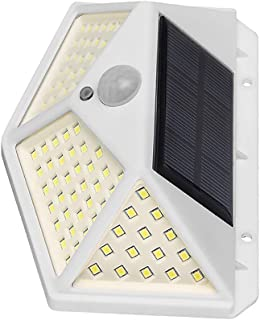 4Pcs 100 LED Solar Wall Lamp 3 Modes Body Induction Waterproof Outdoor Lighting Garden Yard Light
