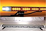 40' Amber Clear Super Bright 70 LEDs Light Bar Flashing Warning Tow/Plow Truck Wrecker Police Snow Plow with BRAKE & SIDE MARKER/TAIL & TURN SIGNAL w/MINI CONTROLLER - YanTech USA